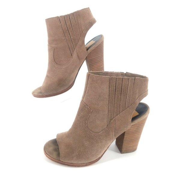 Dolce Vita Open Toe Ankle Boots Bootie Sandal 6.5